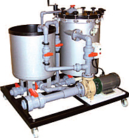 Series HF Horizontal Disc Filtration Systems (9000-HF)