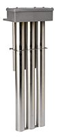 D3 Series, Derated Triple Metal Heaters