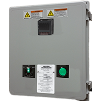 DSL Series, Digital Combination Controls One or Three Phase with 10 ft. FEP Sleeved Sensor