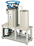 Series 0310/0620/0640-PP Horizontal Disc Filtration Systems w/SY