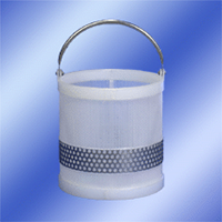 12 x 12 Polypro Baskets with Stainless Steel Handles & Stainless Steel Girth Supports (#MSC900)