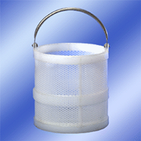 12 x 12 Polypro Dipping Baskets with One or Two Plastic Girth Supports