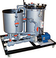 Series LS Horizontal Disc Filtration Systems