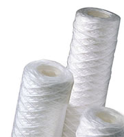 STRING WOUND POLYPROPYLENE FILTER CARTRIDGES