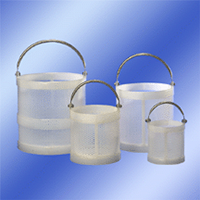 Standard Polypro Baskets with Stainless Steel Handles