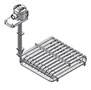 HXRL and HXOL heaters are available with a rigid riser and standard junstion box. See example 2